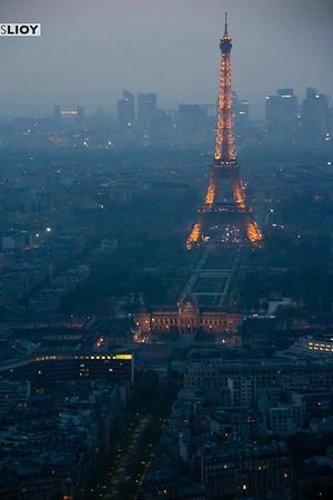 tour montparnasse paris and eiffel tower views