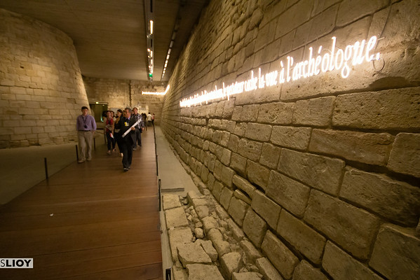 underground medieval louvre fortress