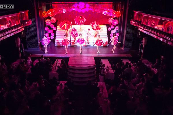 Paris France cabaret show at Paradis Latin.