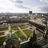 View from the top of Berliner Dom Cathedral on Museum Island in Berlin, Germany.