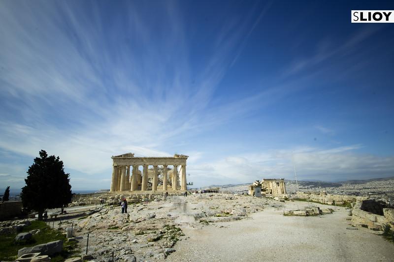 Parthenon Treasury on the Athens Acropolis