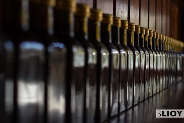Olive Oil bottled in Greece