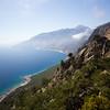 Crete E4 Trail Outside of Agia Roumeli in Greece.