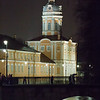 Alexander Nevsky Monastery as seen from the outside in Saint Petersburg, Russia.