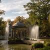 The Estanque de los Chinescos in a small pond inside Jardin del Principe in Aranjuez, Spain.