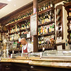 Stopping for a vermouth at Casa Alberto in Madrid, Spain.