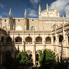 Architecture of the Monasterio de San Juan de los Reyesin Toledo, Spain.