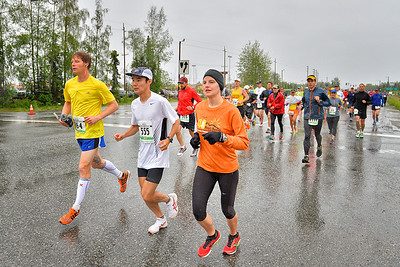 June 21, 2014: Mayor's Midnight Sun Marathon and Half Marathon
