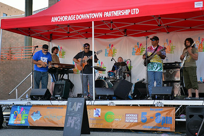 July 18, 2014: Anchorage Downtown Partnership presents Live After Five featuring H3.