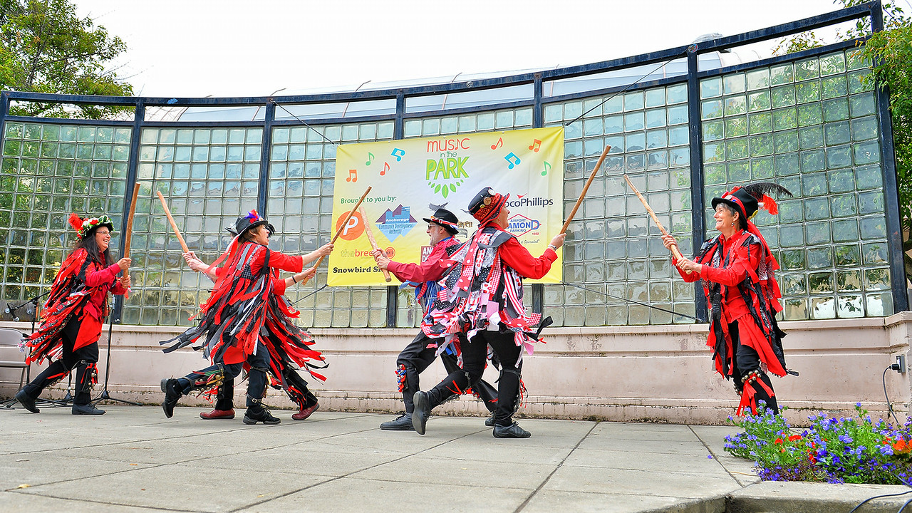 June 27, 2014: Anchorage Downtown Partnership presents Music in the Park featuring Rant & Raven Morris Traditional English Folk Dance with special guests Ragged Robin (England), Misty City (Seattle, WA) and Vancouver Morris Men (Canada).
