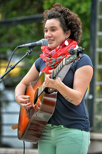 July 9, 2014: Anchorage Downtown Partnership presents Music in the Park featuring singer/songwriter Hannah Yoter.