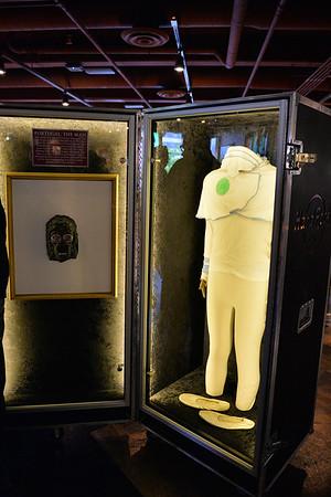 June 25, 2014: Hard Rock Cafe Anchorage Memorabilia Tour. Hard Rock International Music & Memorabilia Historian Jeff Nolan gives a tour of the new Hard Rock Cafe Anchorage's vast collection of memorabilia.