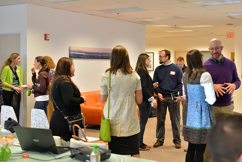 April 15, 2014: United Way of Anchorage Emerging Leaders - April Lunch & Learn with Alice Rogoff.