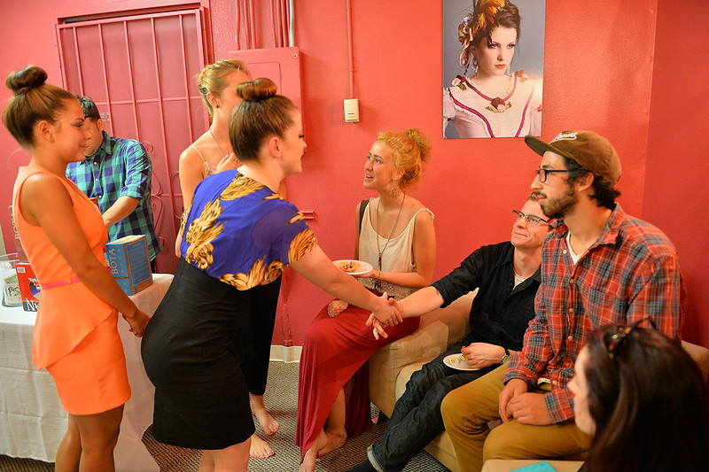 August 1, 2014: First Friday -- Pulse Dance Company Season Five Reveal & Anniversary Party.