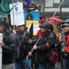 Seattle Protest Human Rights Dec 2010 : Seattle Pikes Market protest for human rights