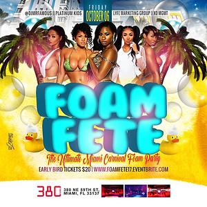 10/06/17 Foam Fete