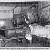 29 Jun 1962- Swill is cooked in this very efficient looking boiler house at Mason Pigs, Rixton.