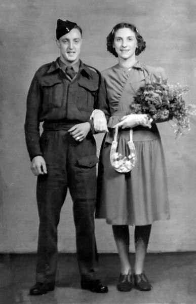 Doug and Doris Wedding Day