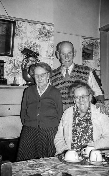 Elizabeth (Nicky), Arthur & Ellen (Nellie), September 1969