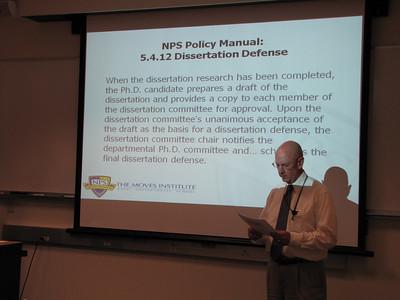 Chris' Dissertation Defense