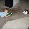 Jack and his feline friend Miss Penny!