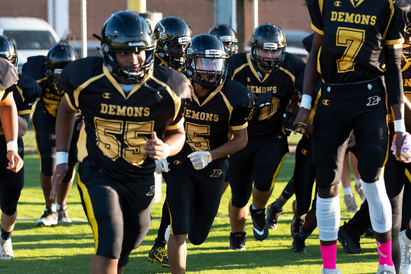 20191010 RJR JV Football vs Davie 152Ed