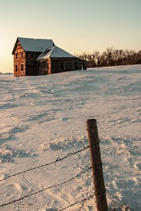 Abandoned farmhouse in Northeastern South Dakota. Enjoy and hold hands.