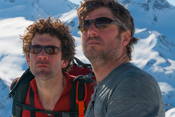 Mark Longtine and Ian Jones, International Basin, British Columbia