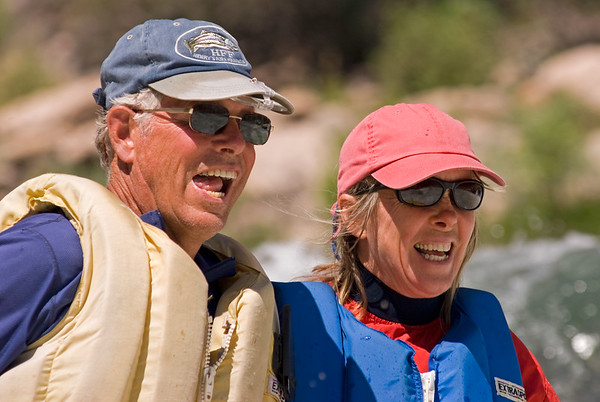 Chris Wadsworth and Gretchen Dingman, Middle Fork of the Salmon River, Idaho
