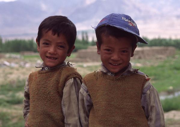 Young boys, Ladakh, India