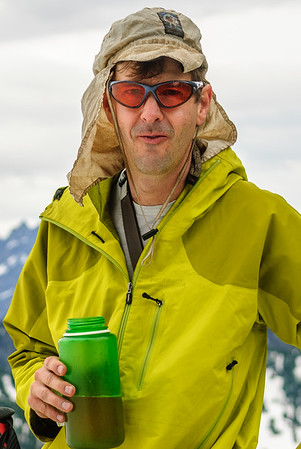 Dwayne Dunaway, Chair Peak, Cascades, Washington
