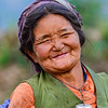 Nepali woman, Langtang Valley