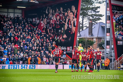 AFC Bournemouth v Wigan Athletic - FA Cup 3rd Round match at The Goldsands Stadium, Bournemouth, on Jan 6, 2018 (Photo by Paul Paxford/Pitchside Photo)