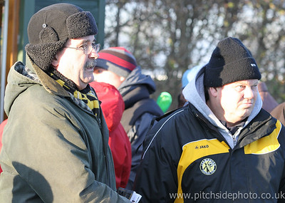 Supporters pre match - Leamington v AFC Totton, Southern League, The New Windmill Ground, Leamington - 1/12/12 - ©Paul Paxford/Pitchside Photo. No unauthorised use. Contact Pitchsidephotography@gmail.com