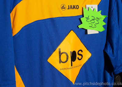 Discount on replica shirts - Leamington v AFC Totton, Southern League, The New Windmill Ground, Leamington - 1/12/12 - ©Paul Paxford/Pitchside Photo. No unauthorised use. Contact Pitchsidephotography@gmail.com