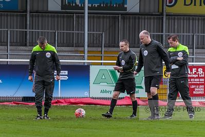 Eastleigh v Bolton Wanderers FA Cup 9/01/2016.