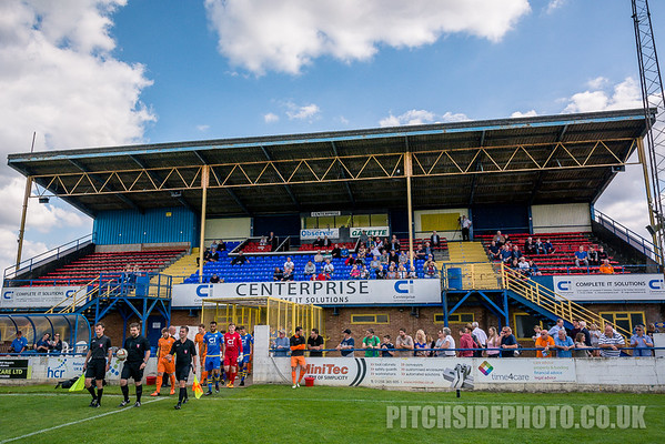 Basingstoke Town v Hartley Wintney - Emirates FA Cup