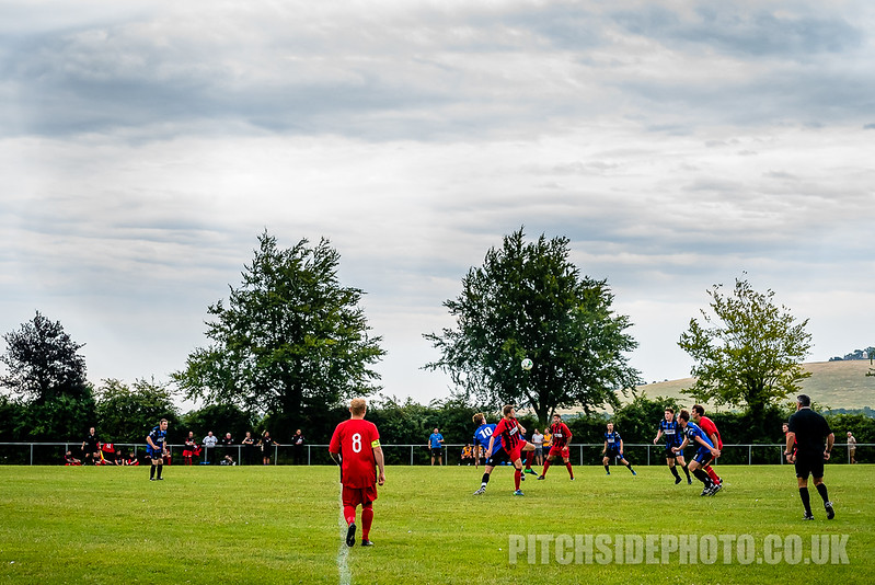Clanfield v Fareham Town, Pre Season Friendly