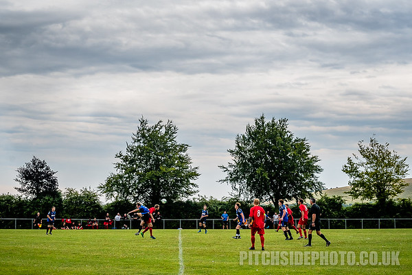 Clanfield v Fareham Town, Pre Season Friendly