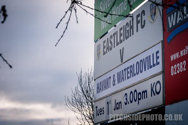 Eastleigh v Havant & Waterlooville, Vanarama National League