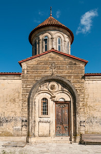 Entrance to Motsameta Church and Monastery near Kutaisi, Georgia