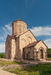 Nikortsminda Cathedral, Georgian Orthodox Church in the Racha region of Georgia