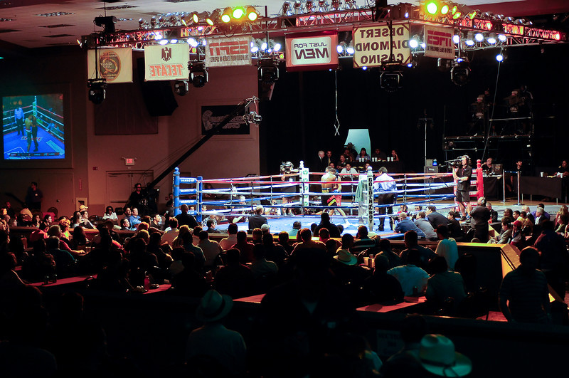 (6.26.2009 -- Tucson)  Images from the Golden Boy Promotions fight card at the Desert Diamond Casino.