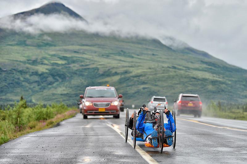 July 19, 2013: Sadler's Alaska Challenge Stage Five from Milepost 211 to Milepost 183.
