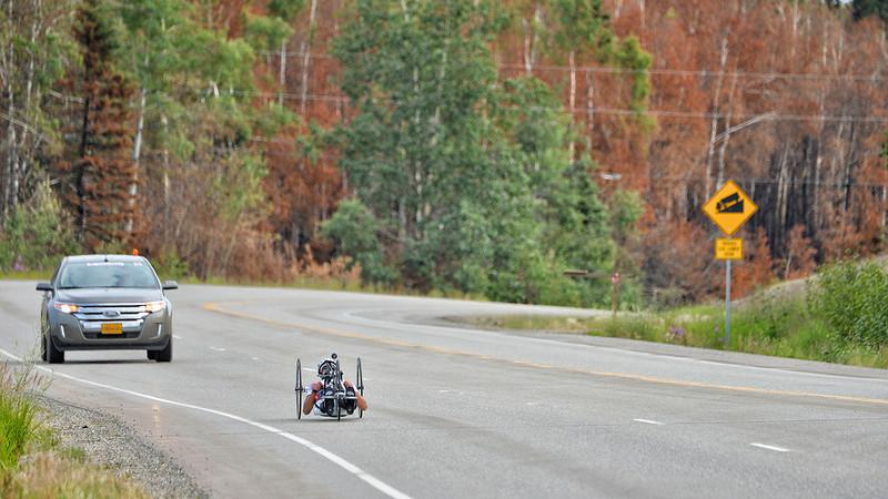 July 17, 2013: Sadler's Alaska Challenge Stage Two - Ester, Alaska to Nenana, Alaska.