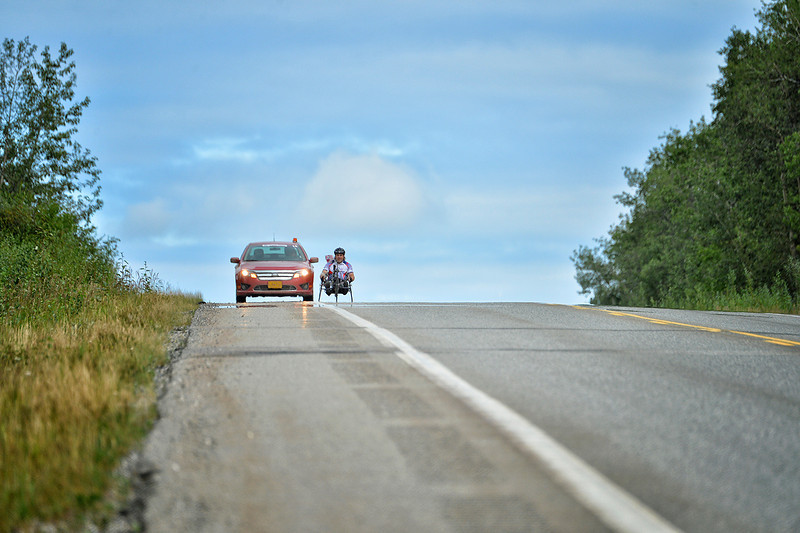 July 17, 2013: Sadler's Alaska Challenge Stage Two - Ester, Alaska to Nenana, Alaska.