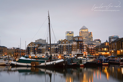 limehouse basin, London, uk