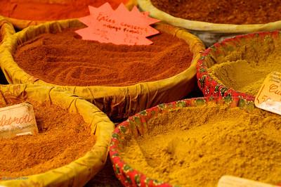 Lourmarin market day