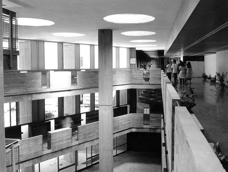 Atrium in Wards Building