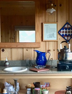 Tea and kettle - Cabin Comforts
